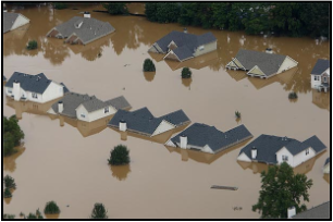 UGA scientists are engaged in research on the effects of urban land cover on precipitation and flooding, such as occurred in Atlanta in September 2009.
